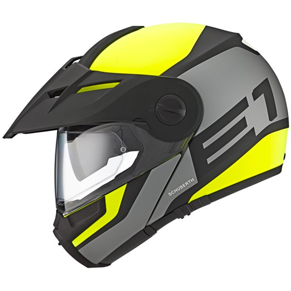 casque schuberth e1 guardian yellow en stock. Black Bedroom Furniture Sets. Home Design Ideas
