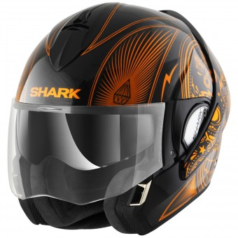Casque Modulable Shark Evoline Serie 3 Mezcal Chrome KUO