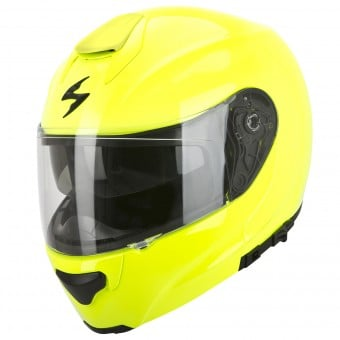 Casque Modulable Scorpion EXO 3000 Air Jaune Fluo