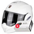 Pack Exo Tech Blanc + Kit Bluetooth Sena SMH5