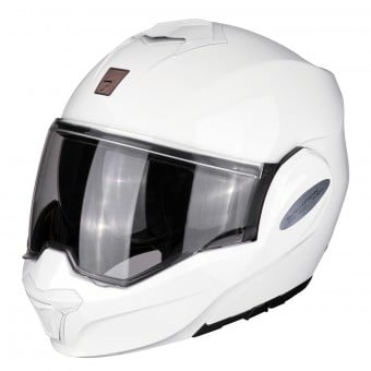 Casque Modulable Scorpion Exo Tech Blanc