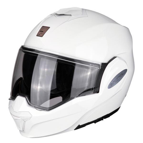 Casque Modulable Scorpion Exo Tech Blanc