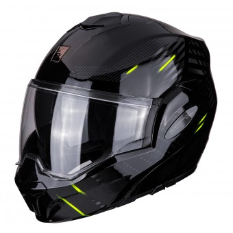 Casque Modulable Scorpion Exo Tech Pulse Noir