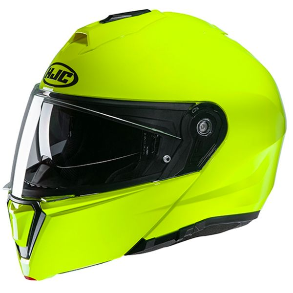 Casque Modulable HJC I90 Fluo Green