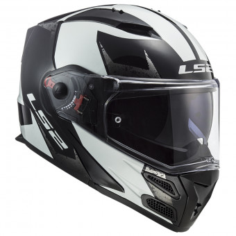 Motorcycle helmets LS2 FF399 VALIANT PROX MATT H-V Yellow Black L Noir//Jaune