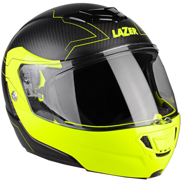 Casque Modulable Lazer Monaco Evo Droid Pure Carbon