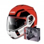 Casque Modulable Nolan N100 5 Consistency N-Com Corsa Red 23 + Kit Bluetooth B901 R