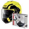 Pack N100 5 Consistency N-Com Led Yellow 26 + Kit Bluetooth B601R