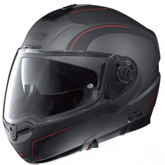 Casque Modulable Nolan N104 Action N-Com Anthracite Mat 24