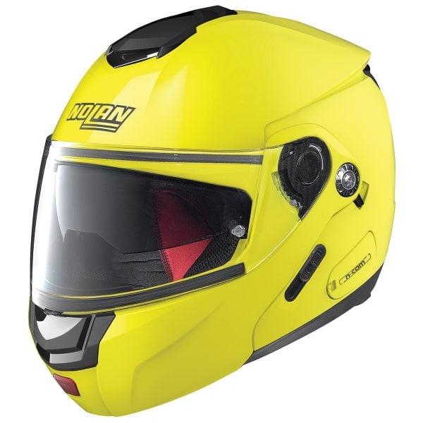 Casque Modulable Nolan N90 2 Hi-Visibility N-Com Fluo Yellow 22