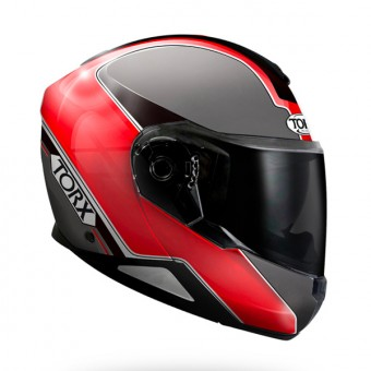 Casque Modulable Torx Neil 2 Trip Rouge