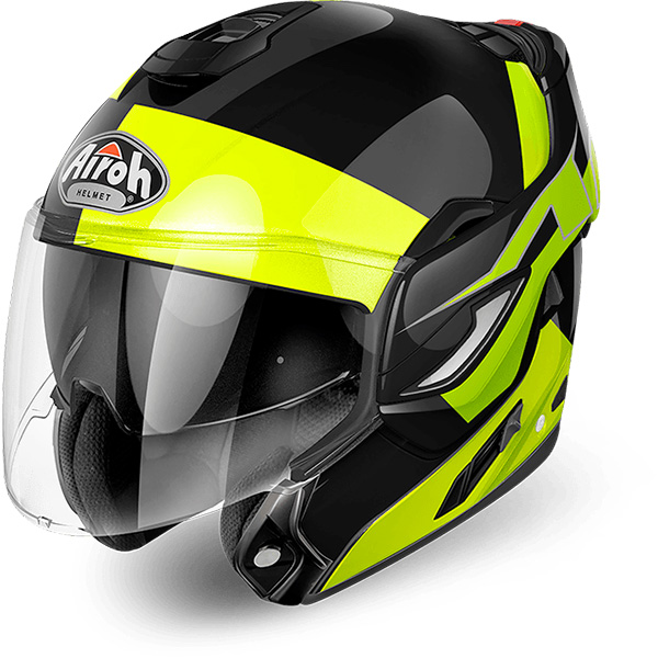 Airoh Rev Fusion Yellow