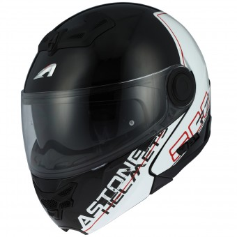 Casque Modulable Astone RT 800 Linetek Red White