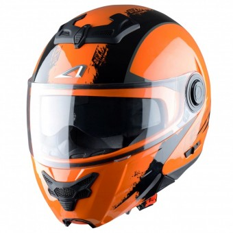 Casque Modulable Astone RT 800 Venom Black Orange