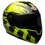 Casque Modulable Bell Srt Modular Predator Hi-Viz Green Black