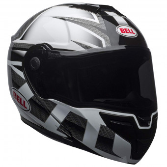 Casque Modulable Bell Srt Modular Predator White Black