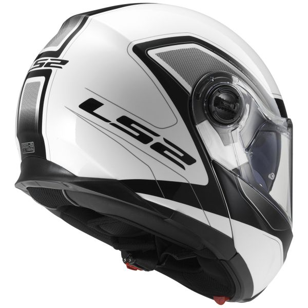 LS2 Strobe Civik White Black FF325