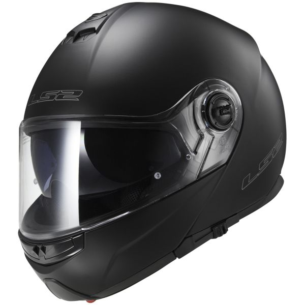 Casque Modulable LS2 Strobe Matt Black FF325