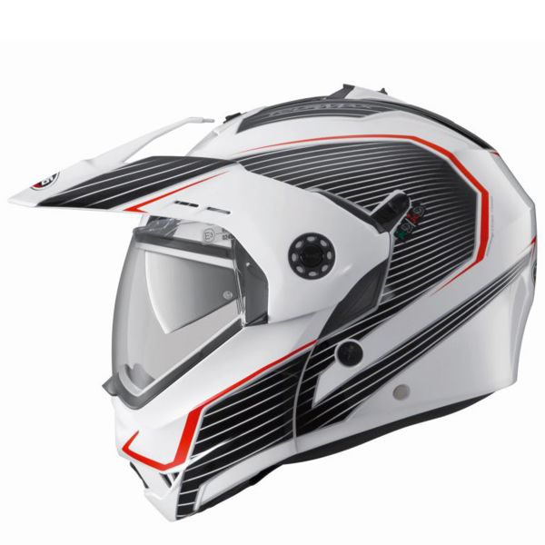 Casque Modulable Caberg Tourmax Sonic White Black