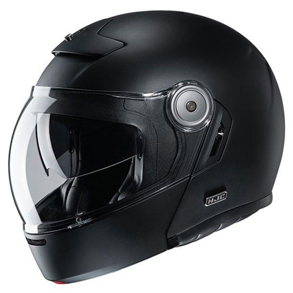 Casque Modulable HJC V90 Semi Flat Black