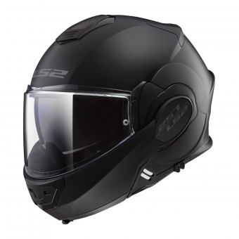 Casque Modulable LS2 Valiant Limited Black S Matt Black FF399