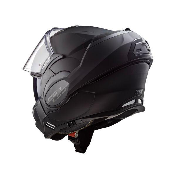 LS2 Valiant Limited Black S Matt Black FF399