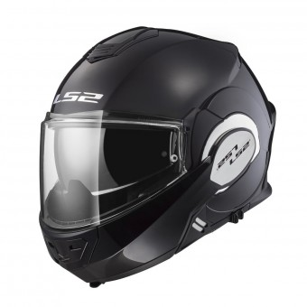 Casque Modulable LS2 Valiant Solid Gloss Black FF399
