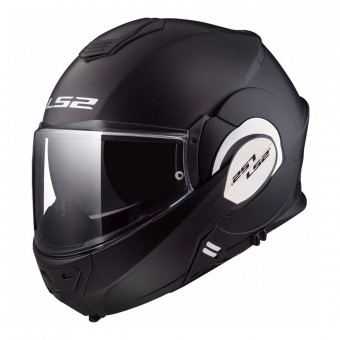 Casque Modulable LS2 Valiant Solid Matt Black FF399