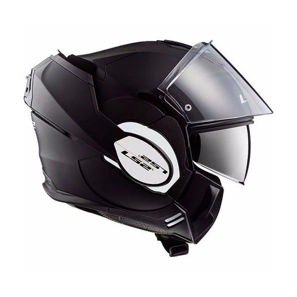 LS2 Valiant Solid Matt Black FF399
