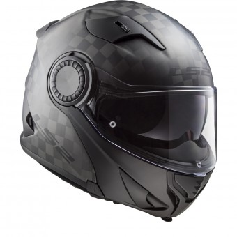 Casque Modulable LS2 Vortex Solid Matt Carbon FF313