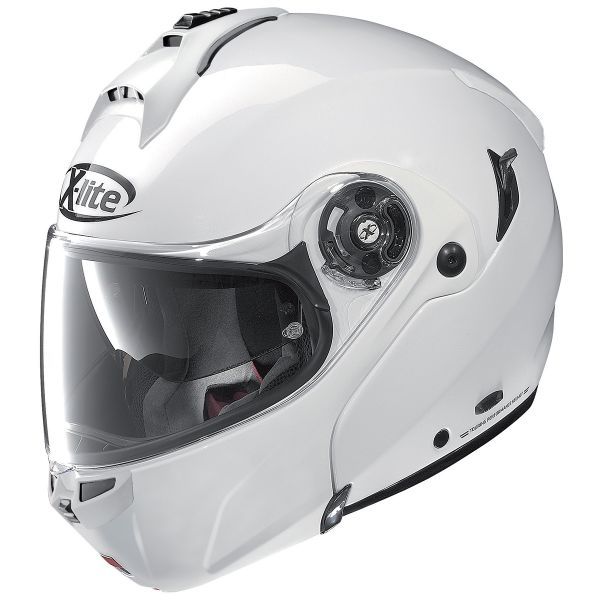 Casque Modulable X-lite X-1004 Elegance N-Com White 3