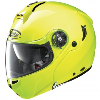 Casque Modulable X-lite X-1004 Hi-Visibility N-Com Fluo Yellow 9