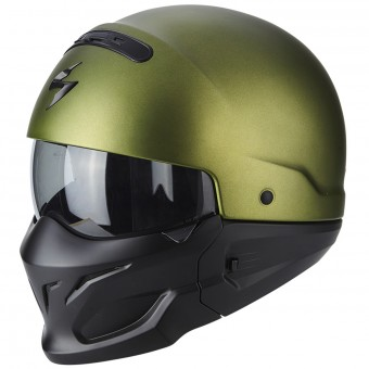 Casque Transformable Scorpion Exo Combat Matt Green