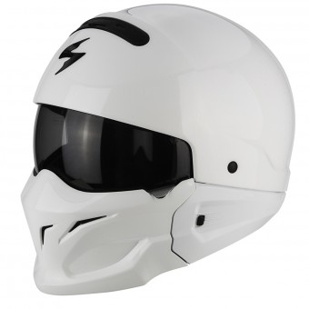 Casque Transformable Scorpion Exo Combat White