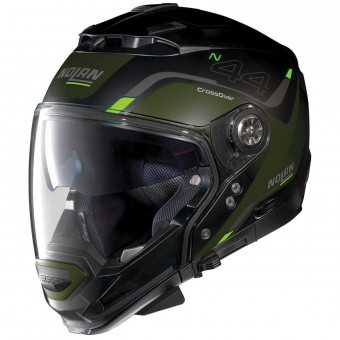 Casque Transformable Nolan N44 Evo Viewpoint N-Com Flat Black 47