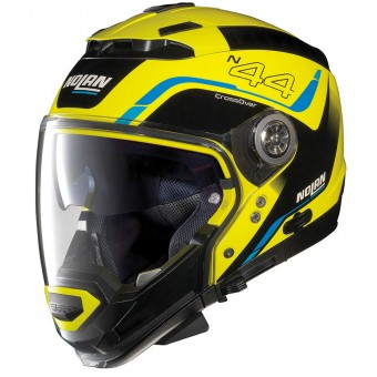Casque Transformable Nolan N44 Evo Viewpoint N-Com Led Yellow 51