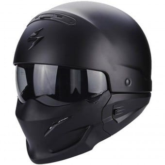 Casque Transformable Scorpion Exo Combat Matt Black