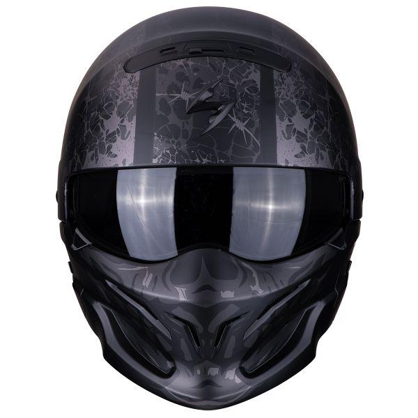 Scorpion Exo Combat Stealth Noir Mat Argent