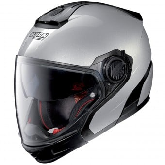 Casque Transformable Nolan N40 5 GT Special N-Com Salt Silver 11