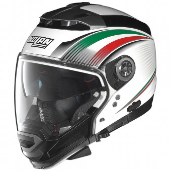 Casque Transformable Nolan N44 Evo Italy N-Com White 16