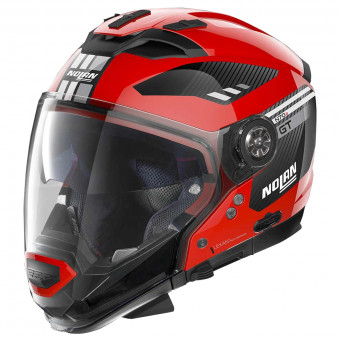 Casque Transformable Nolan N70 2 GT Bellavista N-Com Corsa Red 25