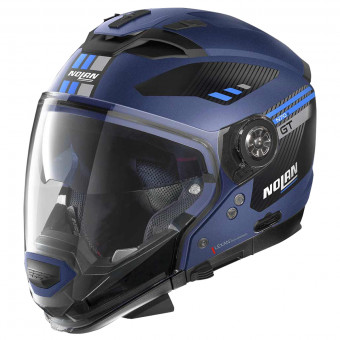 Casque Transformable Nolan N70 2 GT Bellavista N-Com Flat Imperator Blue 27