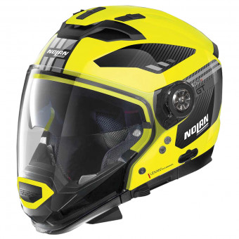 Casque Transformable Nolan N70 2 GT Bellavista N-Com Led Yellow 26