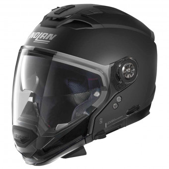 Casque Transformable Nolan N70 2 GT Classic N-Com Flat Black 10