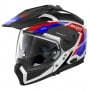 Casque Transformable Nolan N70 2 X Grandes Alpes N-Com Metal White 26