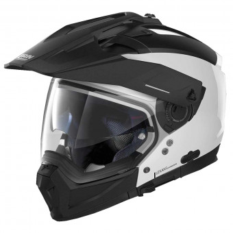 Casque Transformable Nolan N70 2 X Special N-Com Pure White 15