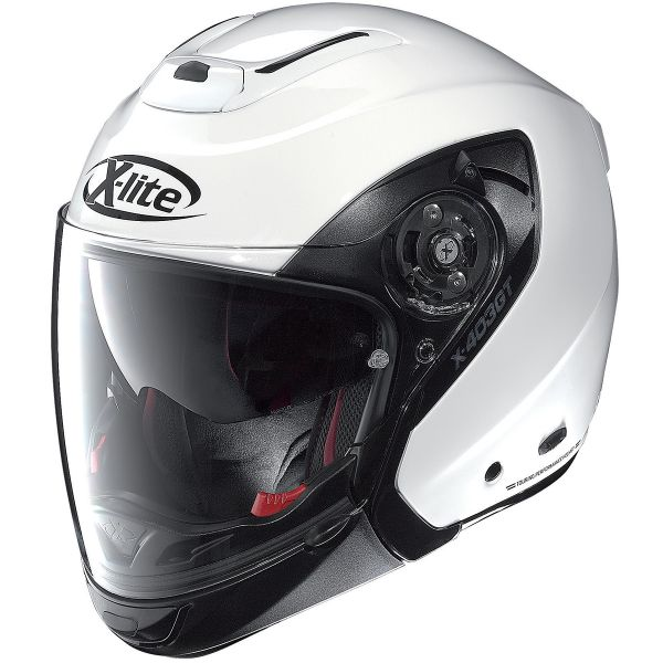Casque Transformable X-lite X-403 GT Elegance N-Com White 3