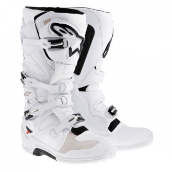 Bottes Cross Alpinestars TECH 7 Black White
