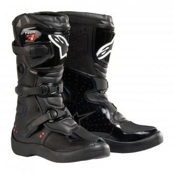 Bottes Cross Alpinestars Tech 3S Kids Black White Red Fluo