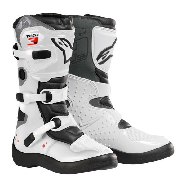 Bottes Cross Alpinestars Tech 3S Kids Black White